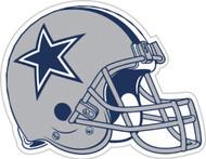 """Dallas Cowboys 12"""" Helmet Car Magnet"""