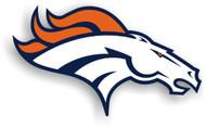 """Denver Broncos 12"""" Right Logo Car Magnet"""