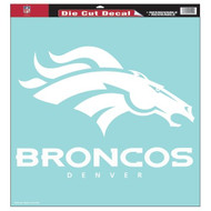 """Denver Broncos 18""""x18"""" Die Cut Decal"""