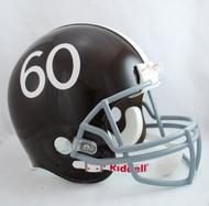 Denver Broncos 1960-61 Throwback Pro Line Helmet