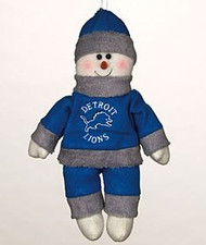 "Detroit Lions 10"" Snowflake Friends"