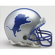 Detroit Lions 1983-2002 Throwback Replica Mini Helmet w/ Z2B Face Mask