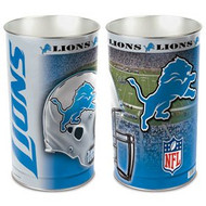 "Detroit Lions 15"" Waste Basket"