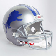 Detroit Lions 1962-68 Throwback Riddell Deluxe Replica Helmet