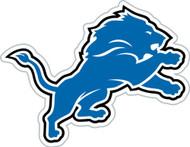 """Detroit Lions 12"""" Logo Car Magnet"""
