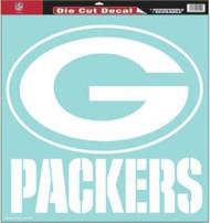 "Green Bay Packers 18""x18"" Die Cut Decal"