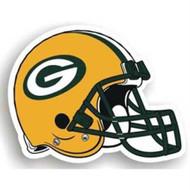"Green Bay Packers 12"" Helmet Car Magnet"
