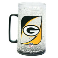 Green Bay Packers Crystal Freezer Mug - Monster Size