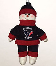 """Houston Texans 10"""" Snowflake Friends"""