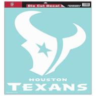 """Houston Texans 18""""x18"""" Die Cut Decal"""