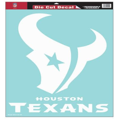 "Houston Texans 18""x18"" Die Cut Decal"