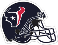 "Houston Texans 12"" Helmet Car Magnet"