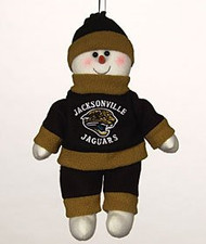 "Jacksonville Jaguars 10"" Snowflake Friends"