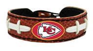 Kansas City Chiefs Classic Football Bracelet