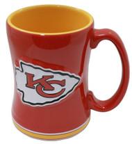 Kansas City Chiefs Coffee Mug - 15oz Sculpted