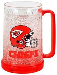 Kansas City Chiefs Crystal Freezer Mug