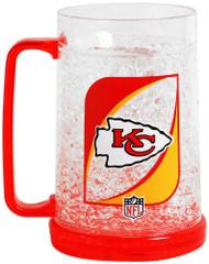 Kansas City Chiefs Crystal Freezer Mug - Monster Size