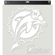 "Miami Dolphins 18""x18"" Die Cut Decal"