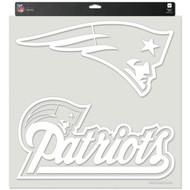 "New England Patriots 18""x18"" Die Cut Decal"