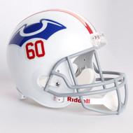 New England Patriots 1960 Throwback Riddell Deluxe Replica Helmet