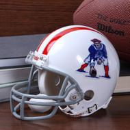 New England Patriots 1961-64 Throwback Replica Mini Helmet w/ Z2B Face Mask