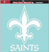 "New Orleans Saints 18""x18"" Die Cut Decal"