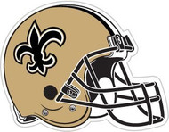 "New Orleans Saints 12"" Helmet Car Magnet"