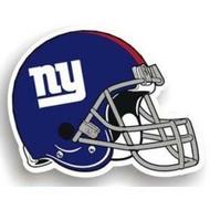 """New York Giants 12"""" Helmet Car Magnet"""