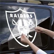 "Oakland Raiders 18""x18"" Die Cut Decal"