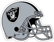 "Oakland Raiders 12"" Logo Car Magnet"