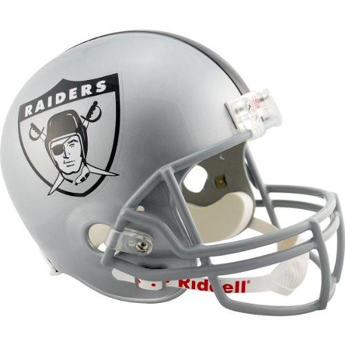 Oakland Raiders 1960-63 Throwback Riddell Deluxe Replica Helmet