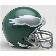 Philadelphia Eagles 1974-95 Throwback Replica Mini Helmet