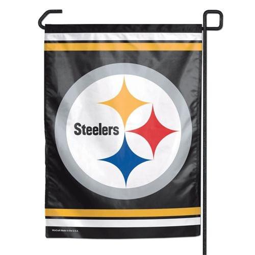 "Pittsburgh Steelers 11""x15"" Garden Flag"
