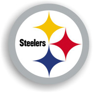 "Pittsburgh Steelers 12"" Logo Car Magnet"