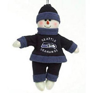 "Seattle Seahawks 10"" Snowflake Friends"