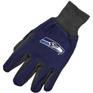 Seattle Seahawks Two Tone Gloves