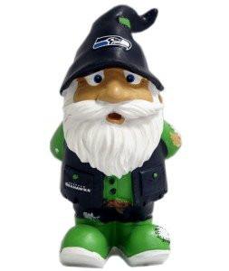 "Seattle Seahawks Garden Gnome - 8"" Stumpy"