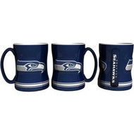 Seattle Seahawks Coffee Mug - 15oz Sculpted