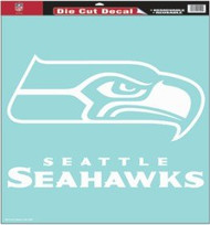 "Seattle Seahawks 18""x18"" Die Cut Decal"