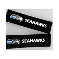Seattle Seahawks Velour Seat Belt Pads