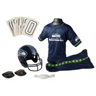 Seattle Seahawks Football Deluxe Uniform Set - Size Medium