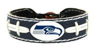 Seattle Seahawks Team Color Football Bracelet