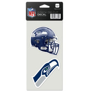 Seattle Seahawks Set of 2 Die Cut Decals