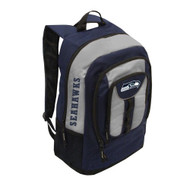 Seattle Seahawks Back Pack - Navy Colossus Style