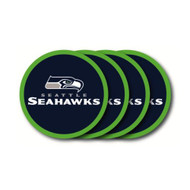 Seattle Seahawks Coaster Set - 4 Pack