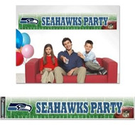 Seattle Seahawks Party Banner