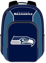 Seattle Seahawks Back Pack - Southpaw Style (Blue)