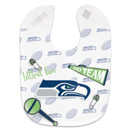 Seattle Seahawks Baby Bib - Full Color Mesh
