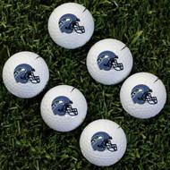 Seattle Seahawks Wilson Ultra Golf Balls - 6 Pack