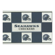 Seattle Seahawks Checker Set